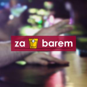 Logo pořadu Za barem